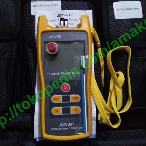 Foto Produk Optical Power Meter JOINWIT JW3208 dari AMAKOM MEDIA KOMUNIKA