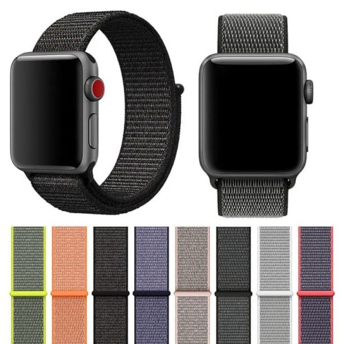Foto Produk New strap Sport Loop For Apple Watch band iwatch 38mm 42mm Series 123 dari Rh Accesories