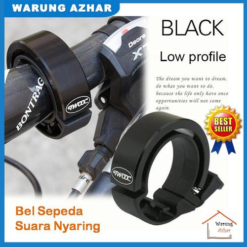 Foto Produk Bel Sepeda / Klakson Sepeda Suara Nyaring mantab - Warna Hitam dari warung azhar