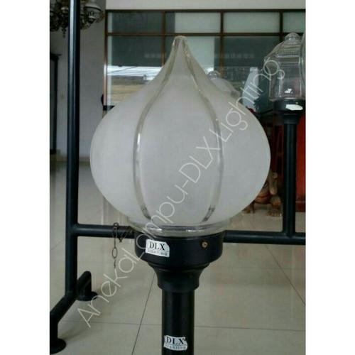 Jual Dlx Lighting Tf 64 Lampu Taman Pilar Kubah Diameter Kaca 22cm Jakarta Timur Anekalampu Dlx Lighting Tokopedia
