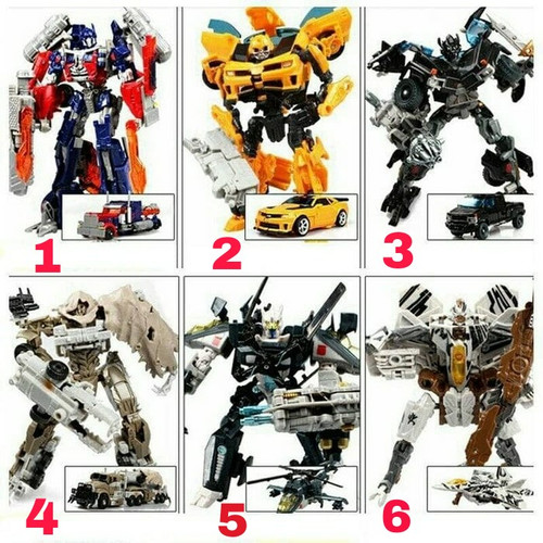 Foto Produk mainan robot Transformer mobil Transformers Optimus Bumblebee autobot dari toko bla bla
