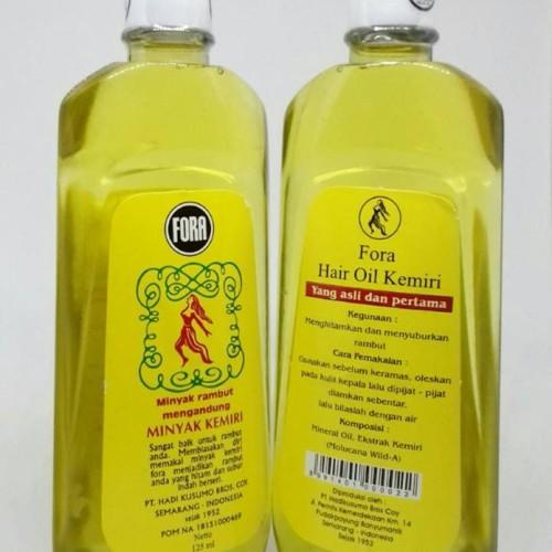 Jual Minyak Kemiri Fora 125 Ml Menghitamkan Dan Menyuburkan Rambut Jakarta Timur Herbal Yakhair Tokopedia