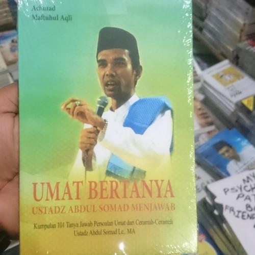 Foto Produk BUKU UMAT BERTANYA USTADZ ABDUL SOMAD MENJAWAB dari Rumah Pintar_Jkt