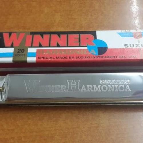 Foto Produk Harmonika SUZUKI Winner 20 Holes dari tokogading