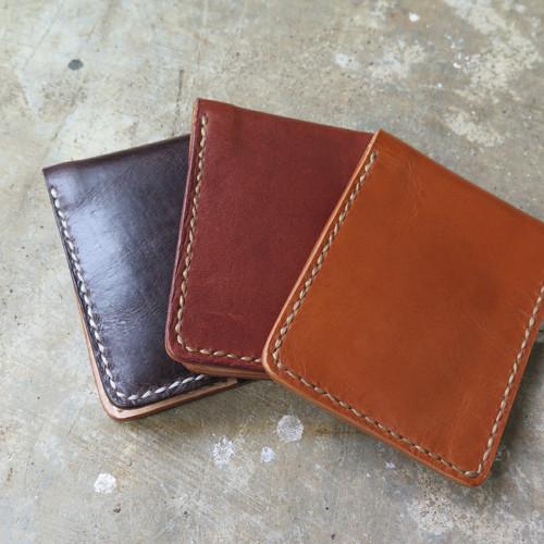 Foto Produk Dompet Kulit Asli Handmade Full Leather Wallet dari Tali Jam Tangan!com