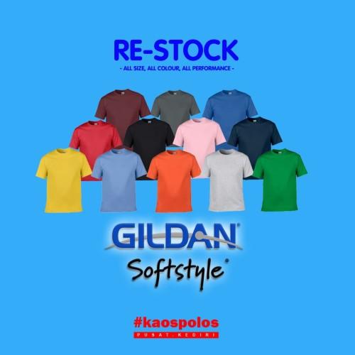 Foto Produk KAOS POLOS GILDAN SOFTSTYLE 64000 UKURAN XXL dari Clothing-Jakarta