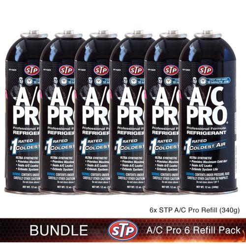 Foto Produk STP [BUNDLE] AC PRO Refrigerant Freon R-134A 6 pc Pendingin AC Mobil dari STP