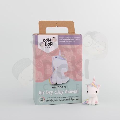 Foto Produk Animal Clay Craft Kit - DIY - Unicorn Kerajinan Tangan dari Doki Doki Craft