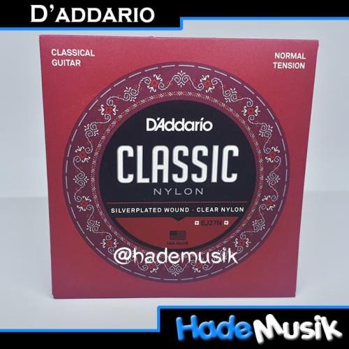 Foto Produk Senar Daddario EJ27N Gitar Nylon, Normal Tension (Original USA) dari Hade Musik