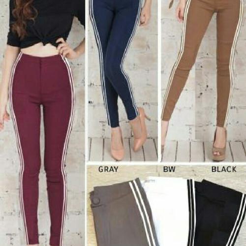 Foto Produk Mj-915 long pants list dari Bless-Shopp