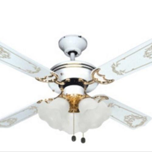 Foto Produk Kipas Angin Gantung 42 inci / Celling Fan Uchida CF 125EWH ( Putih ) dari Lapak Poppy