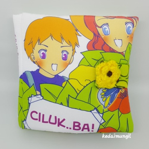"""Foto Produk Buku Bantal - """"Ciluk Ba!!"""" dari Kedai Mungil"""