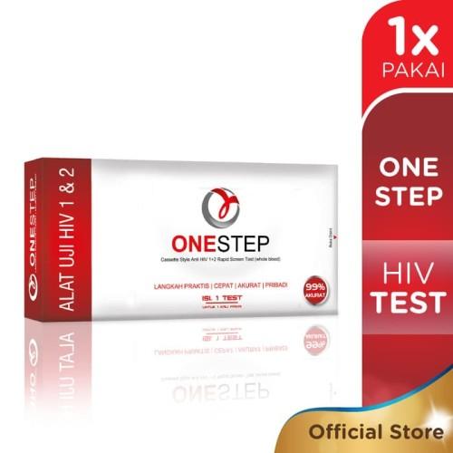 Foto Produk One Step HIV Test - cepat & akurat - mudah, dapat lakukan sendiri dari TokoMDR