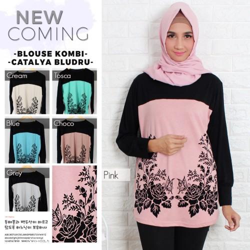Foto Produk kaos muslim/ kaos big size/ kaos fashion catalya beludru dari Iconique