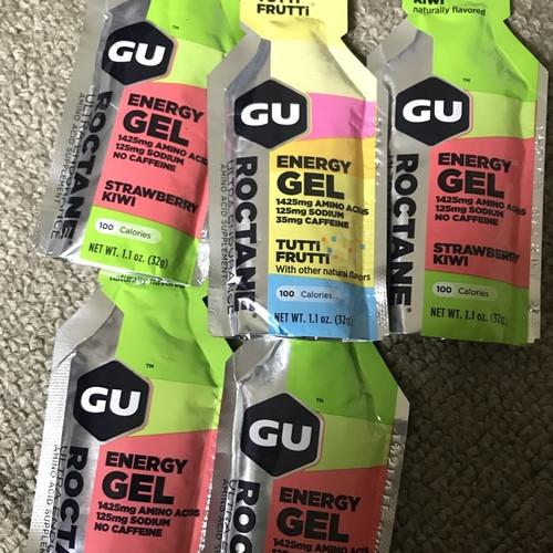 Foto Produk GU GEL roctane kafein caffeine preworkout sachet satuan dari Hulk Supplement