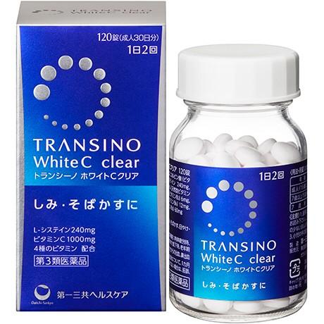 Foto Produk Transino White C Clear 120 tabs (30 days) dari beautyandthetink