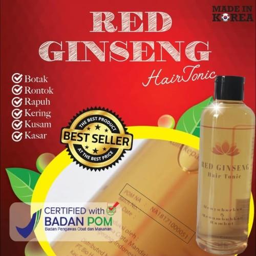 Foto Produk Red Ginseng Hair Tonic - Original BPOM dari duadus