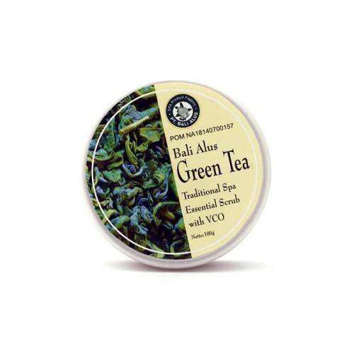 Foto Produk Bali Alus Lulur Tradisional Green Tea + Essential VCO Body Scrub dari duadus