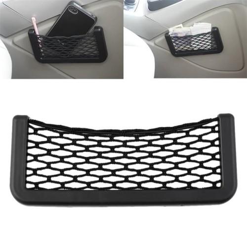 Foto Produk Kantong Jaring Mobil Small Car Set Net Organizer Tempat Smartphone dari lbagstore