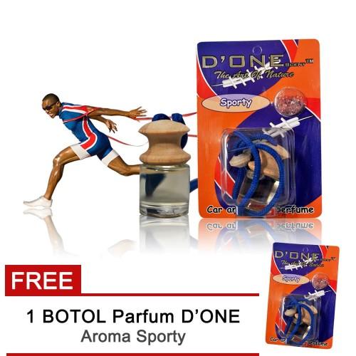 Foto Produk Buy 1 Get 1 free D'One Parfum Mobil Aroma Sporty + Get 1 Free dari AUTORACE VARIASI