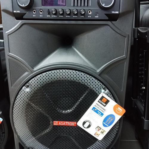 Foto Produk Speaker Wireless Meeting Portable Asatron HT-8881 UKM ( 15 Inch ) dari First Audio Pro