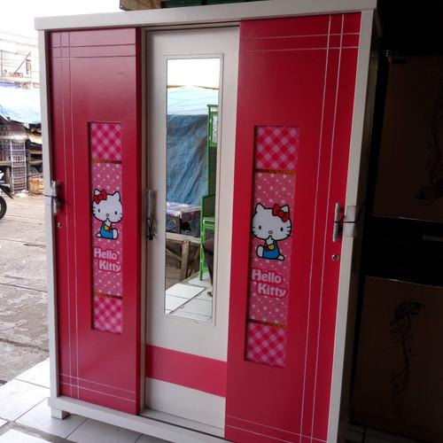 Foto Produk Lemari pakaian 3 pintu sleding karakter dari NUKAMI FURNITURE