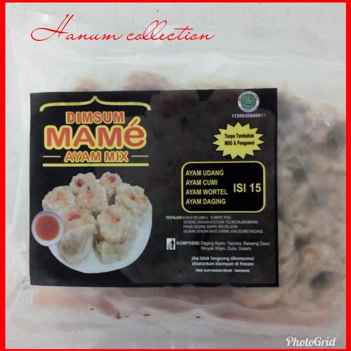 Foto Produk DIMSUM MAME Ayam Mix isi 15 pcs dari Hanum Collection