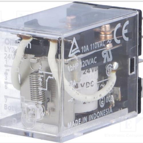 Foto Produk Omron Relay 24vdc LY2 LY 2 LY-2 24 vdc 24V DC Asli Original Omron ORI dari SURYA-ELEKTRIK