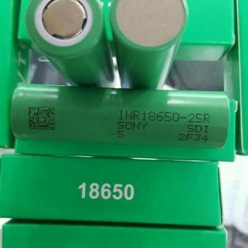 Foto Produk Baterai Vape Vapor Vaporizer SONY VTC5 18650 batre isi ulang dari wirdi