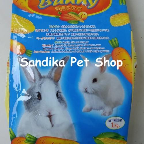 Foto Produk Makanan Kelinci Murah BRITER BUNNY CARROT 1 KG dari Sandika Petshop