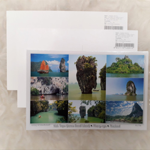 Foto Produk Kartu Pos Thailand (James Bond Island - Phang Nga Bay) Termurah!!! dari Jejak Dolan