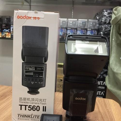 Foto Produk Flash GODOX TT560II TT 560 II With Triger - Hitam dari sensordigital