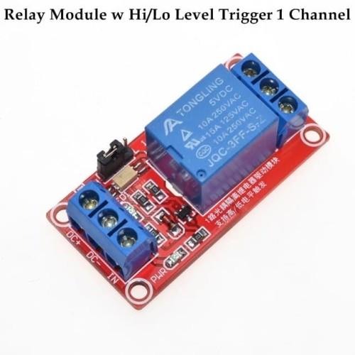 Foto Produk Module Relay w Hi/Lo Level Trigger 1 Channel 12 volt dari Arfa Arduino Robot
