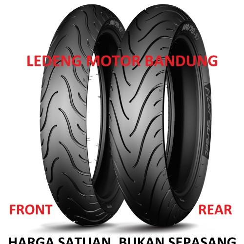 Foto Produk Ban Michelin 120/70-17 Pilot Street Ban Motor Sport Tubeless dari Ledeng Motor Bandung