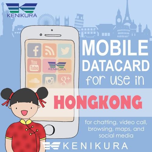 Foto Produk Hong kong Simcard sim card kartu data internet Hongkong HK dari Kenikura Tour