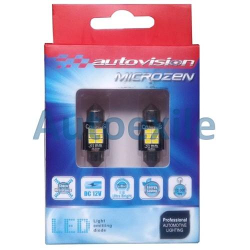 Foto Produk Autovision Microzen LED Festoon 31mm 6000K CANbus Lampu Plafon Kabin dari Autoexile