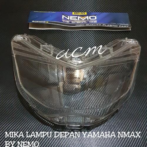 Foto Produk COVER/TUTUP/MIKA BENING LAMPU DEPAN YAMAHA NMAX BY NEMO dari acm racing