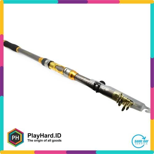 Foto Produk Yuelong Joran Pancing Carbon Fiber Sea Fishing Rod 2.7M/6 dari PlayHardID