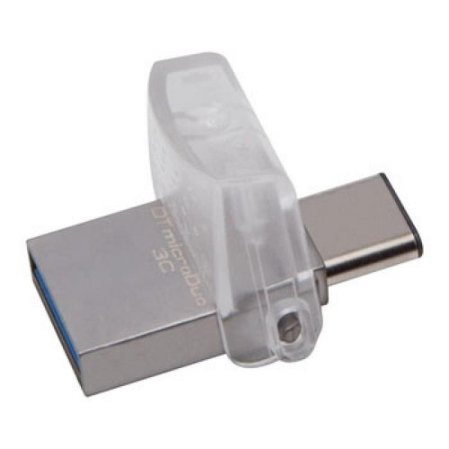 Foto Produk Kingston DataTraveler microDuo 3C USB Type-C & USB 3.1 - DTDUO3C 32GB dari FoundToko