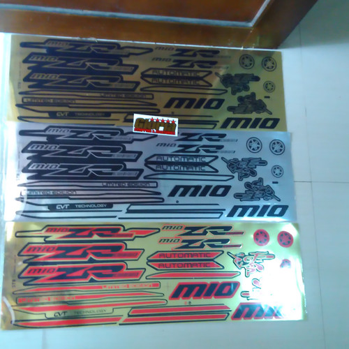 Foto Produk Striping Thailand Mio ZR untuk mio lama atau mio karbu dari Gloria Striping & Acc.