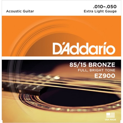 Foto Produk Senar Gitar Akustik D'Addario EZ900 .010-.050 Accoustic String dari Acc Gitar