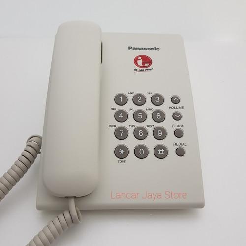 Foto Produk Panasonic KX-TS505 IT COM (WHITE) - Putih dari Lancar Jaya Store