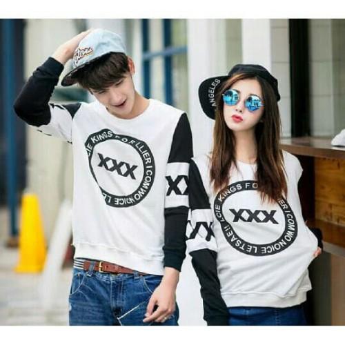 Foto Produk couple sweter couple lp XXX - Hitam dari fkhoshop