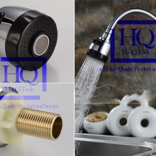 Foto Produk Kran Fleksibel FULL KUNINGAN Keran Angsa Cuci Piring Tancap Tanam dari HanQ Tools