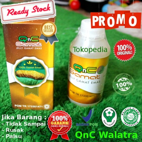 Foto Produk QnC Jelly Gamat 100% Asli Original dari QnC Walatra