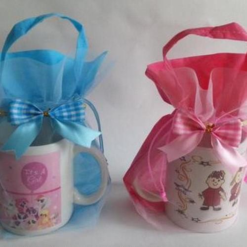 Foto Produk Kemasan Souvenir Hampers Mug Handuk Dll ulang tahun, aqiqah, one month dari E Center Karawaci