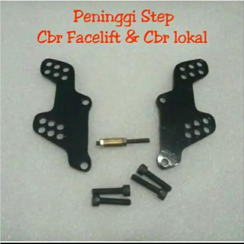 Foto Produk PENINGGI FOOTSTEP CBR 150R LOKAL K45 & CBR 150R FACELIFT - Hijau Muda dari Anugrah Variasi Motor