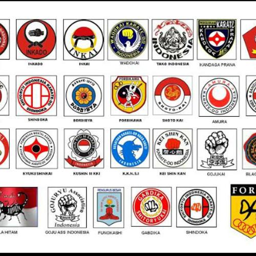 Foto Produk Lambang Logo Badge perguruan karate Indonesia dari Kang Amin