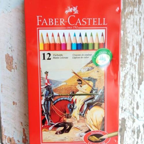 Foto Produk Pencils Colour/Pensil Warna Faber 12 Panjang Tin Case/Kaleng Classic dari ACC ANDI