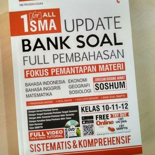 Foto Produk 1 For All SMA Update Bank Soal Full Pembahasan Soshum dari cerdas media